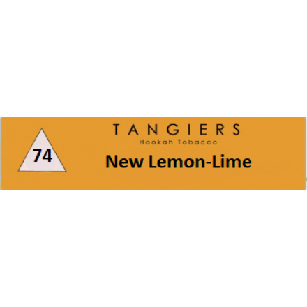 Табак Tangiers #74 Noir New Lemon-Lime 100 грамм (лимон-лайм)