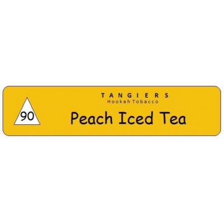 Табак Tangiers #90 Noir Peach Iced Tea 100 грамм (персиковый чай со льдом)
