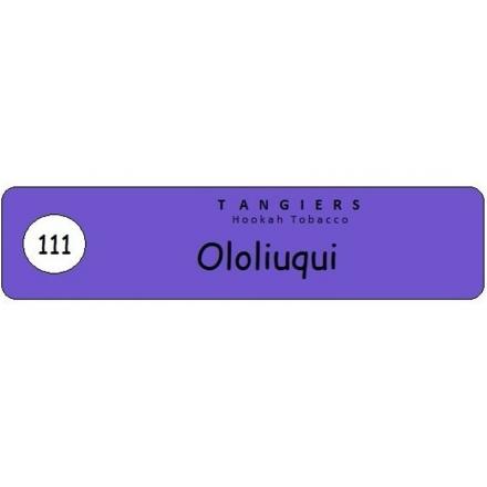 Табак Tangiers #111 Burley Ololiuqui 250 гр (Микс колы и лайма)