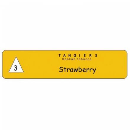 Табак Tangiers #3 Noir Strawberry 250 гр (Клубника)