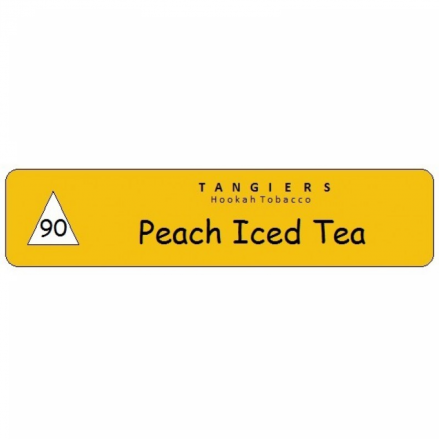 Табак Tangiers #90 Noir Peach Iced Tea 250 грамм (персиковый чай со льдом)