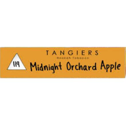 Табак Tangiers #119 Noir Midnight Orchard Apple 250 грамм (двойное яблоко)