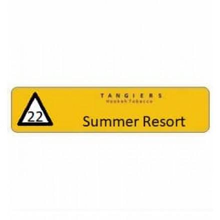 Табак Tangiers #22 Noir Summer Resort 100 грамм (огуречный лимонад с тыквой)