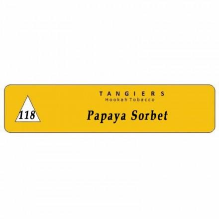 Табак Tangiers #118 Noir Papaya Sorbet 250 грамм (папайя)