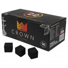 Уголь кокосовый Crown (96 кубиков)
