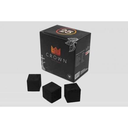 Уголь кокосовый Crown 0.250 кг (18 кубиков 25*25)