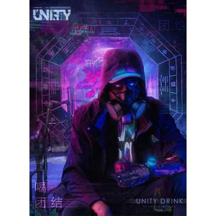 Табак Unity UNITY DRINK 125 грамм (черничная кола)