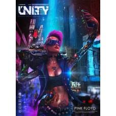Табак Unity PINK FLOYD 125 грамм (грейпфрут клубника и малиновое варенье)